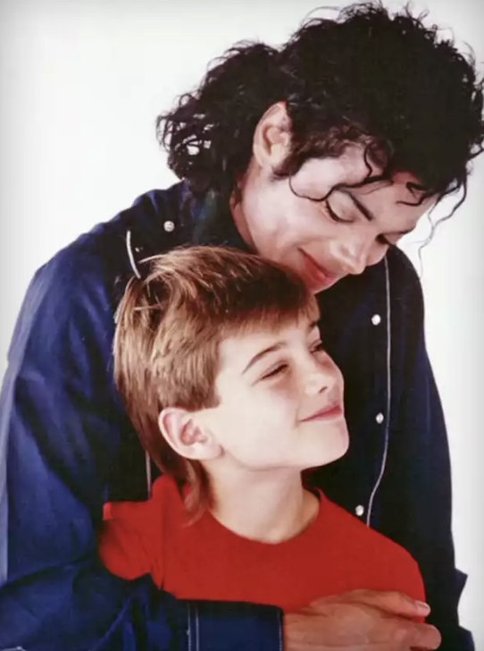 Safechuck alleges Jackson sexually abused him from a young age in the controversial documentary.  Source: HBO/Leaving Neverland
