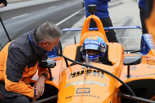 Alonso: Rain-hit Indy 500 test was inconclusive