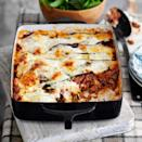 """<p>A tasty, light lasagne that can be adapted for vegetarians using Quorn mince.</p><p><strong>Recipe: <a href=""""https://www.goodhousekeeping.com/uk/food/recipes/a536806/pasta-less-lasagne/"""" rel=""""nofollow noopener"""" target=""""_blank"""" data-ylk=""""slk:Pasta-less lasagne"""" class=""""link rapid-noclick-resp"""">Pasta-less lasagne</a></strong></p>"""