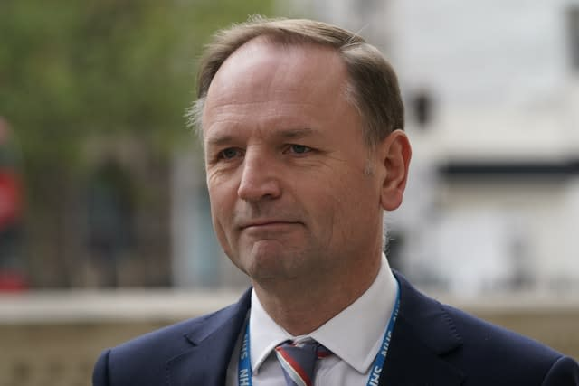 Sir Simon Stevens (Aaron Chown/PA)