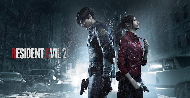 The 'Resident Evil 2' remake welcomes back original heroes Leon and Claire.