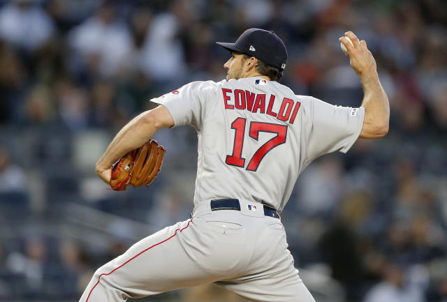 "A closing gig might be in <a class=""link rapid-noclick-resp"" href=""/mlb/players/9007/"" data-ylk=""slk:Nathan Eovaldi"">Nathan Eovaldi</a>'s near future (Jim McIsaac/Getty Images)"