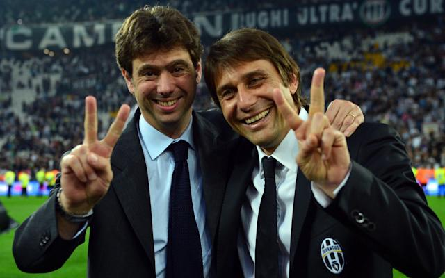 <span>Juventus were rejuvenated under Antonio Conte (R)</span>