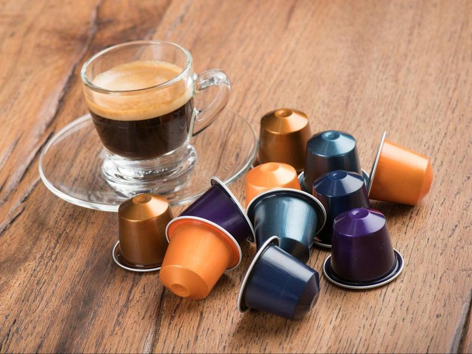Two minutes to make a cup of coffee. Half a millennium to decompose. Coffee pods are among the most persistent forms of domestic waste (Getty)