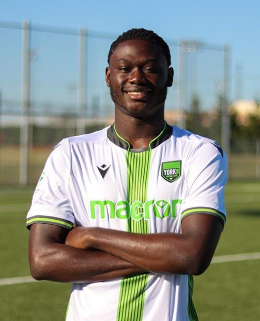 York 9 FC completes 2020 roster with signing of Canadian teenage forward