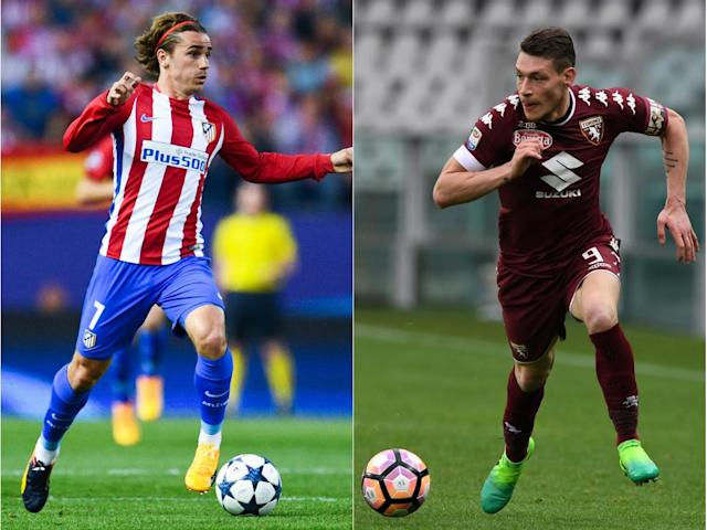 Manchester United transfer news: Jose Mourinho targets Antoine Griezmann and Andrea Belotti in £170m double deal
