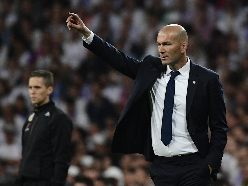 Zinedine Zidane remains confident that his side will seal the title: Getty