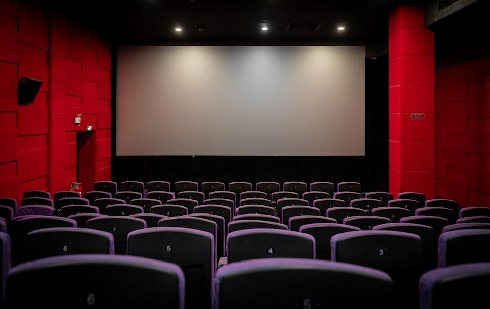 Theaters aren't included in a California state ban on large gatherings. (Photo: Getty Images)
