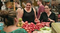 """<p>Samin Nosrat's cookbook <em><a href=""""https://www.amazon.com/Salt-Fat-Acid-Heat-Mastering/dp/1476753830?tag=syn-yahoo-20&ascsubtag=%5Bartid%7C10072.g.36030031%5Bsrc%7Cyahoo-us"""" rel=""""nofollow noopener"""" target=""""_blank"""" data-ylk=""""slk:Salt, Fat, Acid, Heat"""" class=""""link rapid-noclick-resp"""">Salt, Fat, Acid, Heat</a> </em>drew praise for its recipes and Nosrat's explanation of the four elements of cooking. She expands on each topic—salt, fat, acid, and heat—in this global docu-series, with episodes in Japan, Italy, California, and Mexico. </p><p><a class=""""link rapid-noclick-resp"""" href=""""https://www.netflix.com/title/80198288"""" rel=""""nofollow noopener"""" target=""""_blank"""" data-ylk=""""slk:Watch Now"""">Watch Now </a></p>"""
