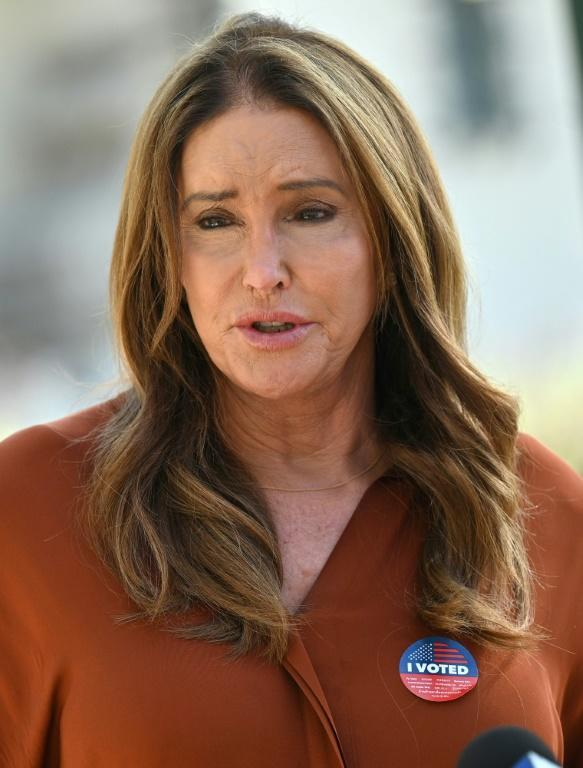 Transgender reality TV star Caitlyn Jenner was among a raft of non-traditional candidates in the election (AFP/Robyn Beck)