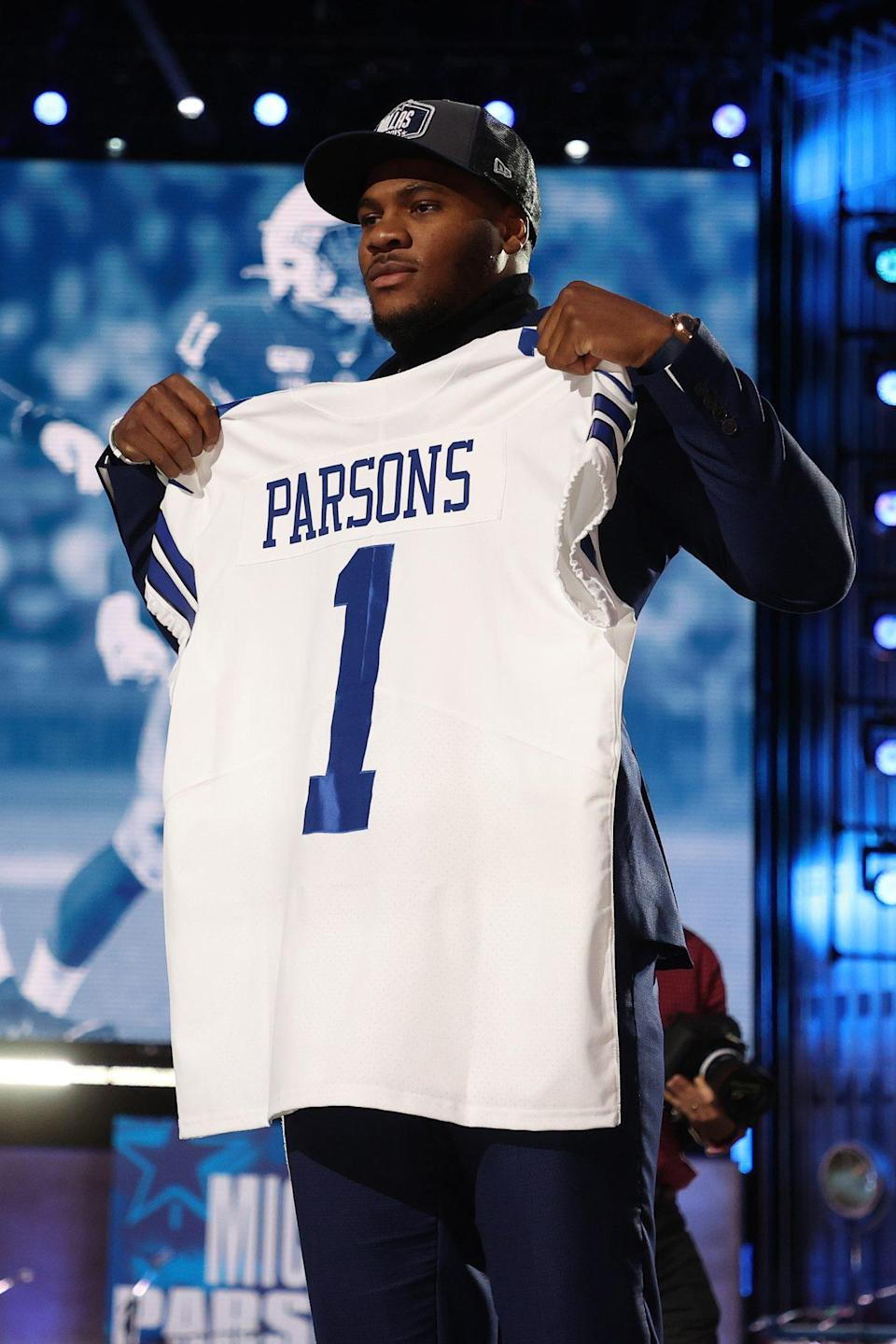 <p>From Penn State University to Dallas, Texas: Micah Parsons is now a Cowboy!</p>