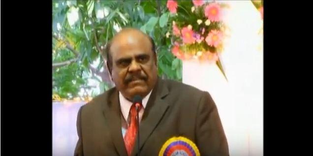 The Calcutta High Court judge, CS Karnan