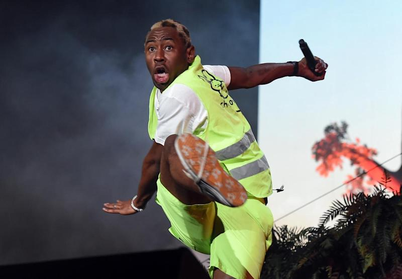 Shock: Tyler wasn't prepared for the announcement (Getty Images for Coachella)