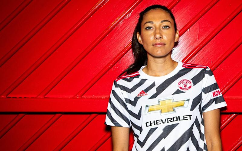 Christen Press — World Cup winner Christen Press happy to have moved to 'football capital of the world' - GETTY IMAGES
