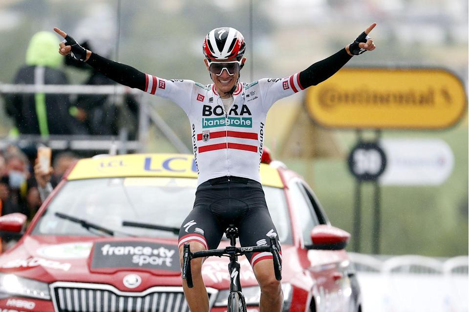 <p><strong>Who's Winning the Tour?</strong></p><p>Austria's Patrick Konrad (BORA-hansgrohe) took a rainy win in Saint Gaudens on Stage 16 of the 2021 Tour de France. Also awarded the prize for being the day's Most Aggressive Rider, the 29-year-old Austrian national champion dropped his breakaway companions on the Col de Portet-Aspet and went on alone to take the most important victory of career. Italy's Sonny Colbrelli (Bahrain-Victorious) finished second and Australia's Michael Matthews (Team BikeExchange) finished third.</p><p>Despite finishing in a small group 14 minutes behind Konrad, Slovenia's Tadej Pogačar (UAE Team Emirates) held onto the yellow jersey as the leader of the Tour's General Classification. Ahead of back-to-back summit finishes in the high Pyrenees, the Slovenian leads Colombia's Rigoberto Uran (EF Education-Nippo) by 5:18 and Denmark's Jonas Vingegaard (Jumbo-Visma) by 5:32. Ecuador's Richard Carapaz (INEOS-Grenadiers) sits fourth at 5:33.</p><p>It was an intense start to the day; cold temperatures and a peloton that couldn't quite figure out how it wanted the race made it hard for a breakaway to escape. But once it did, the break's advantage over the group, containing the yellow jersey, began to balloon.</p><p>The peloton got a spark on the final climb of the day, the Category 4 Côte d'Aspret-Sarrat, when Belgium's Wout van Aert (Jumbo-Visma) pulled an elite group of the Tour's top GC contenders away from the bunch. In the end, the top of the classification remained unchanged, but the move provided a preview of the aggressive racing we can expect to see over the next two days.</p><p><strong>Who's <em>Really</em> Winning the Tour?</strong></p><p>The 2021 Tour de France will likely be decided on one of the next two stages as back-to-back summit finishes will give the riders chasing Pogačar two more opportunities to try and chip away at the Slovenian's substantial lead. It will take a Herculean effort, as Pogačar has shown few signs of weakness s
