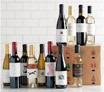 """<p><strong>Vintage Wine Estates</strong></p><p>qvc.com</p><p><strong>$98.00</strong></p><p><a href=""""https://go.redirectingat.com?id=74968X1596630&url=https%3A%2F%2Fwww.qvc.com%2FSH1130-Vintage-Wine-Estates-12-Days-Holiday-Advent-Calendar-12-Bottle-Set.product.M68007.html%3Fsc%3DSRCH&sref=https%3A%2F%2Fwww.goodhousekeeping.com%2Fholidays%2Fchristmas-ideas%2Fg4911%2Fchristmas-advent-calendar%2F"""" rel=""""nofollow noopener"""" target=""""_blank"""" data-ylk=""""slk:Shop Now"""" class=""""link rapid-noclick-resp"""">Shop Now</a></p><p>This wine advent calendar will stock their bar cart just in time for the holiday festivities. Behind each door, there's a 375ml bottle of red or white. </p>"""