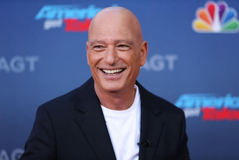 "Howie Mandel promotes ""America's Got Talent"" in March. (Photo: Phillip Faraone/FilmMagic)"