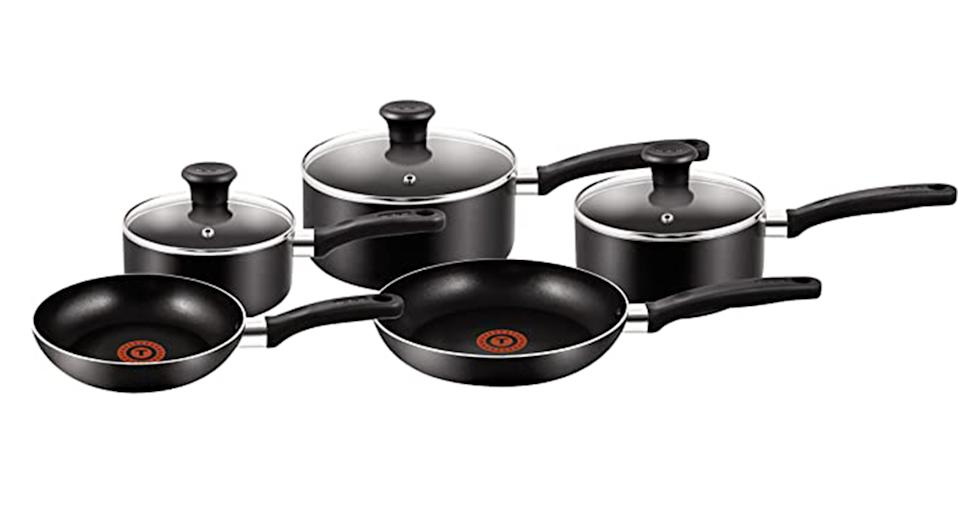 Tefal 5 Piece Pots And Pan Set