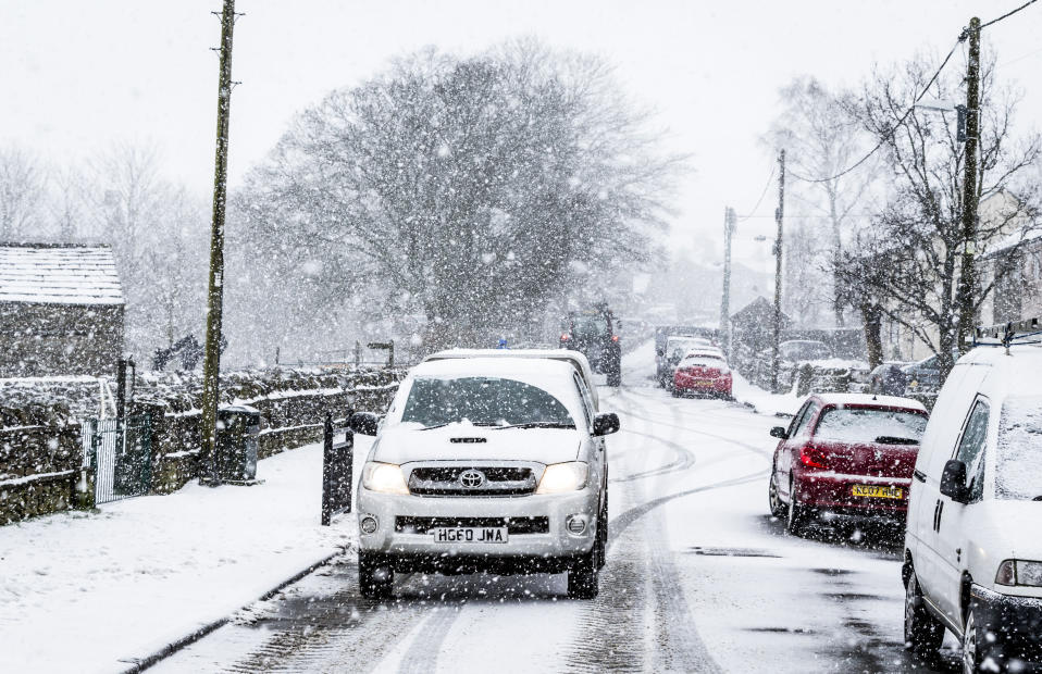 <em>Cold snap – despite milder temperatures, cold air dubbed the 'Beast from the East' is set to arrive from Eastern Europe, causing the mercury to plummet (Pictures: PA)</em>