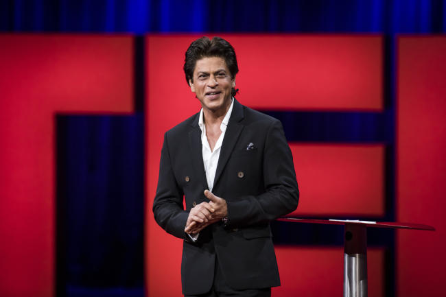 Shah Rukh Khan at TED talks