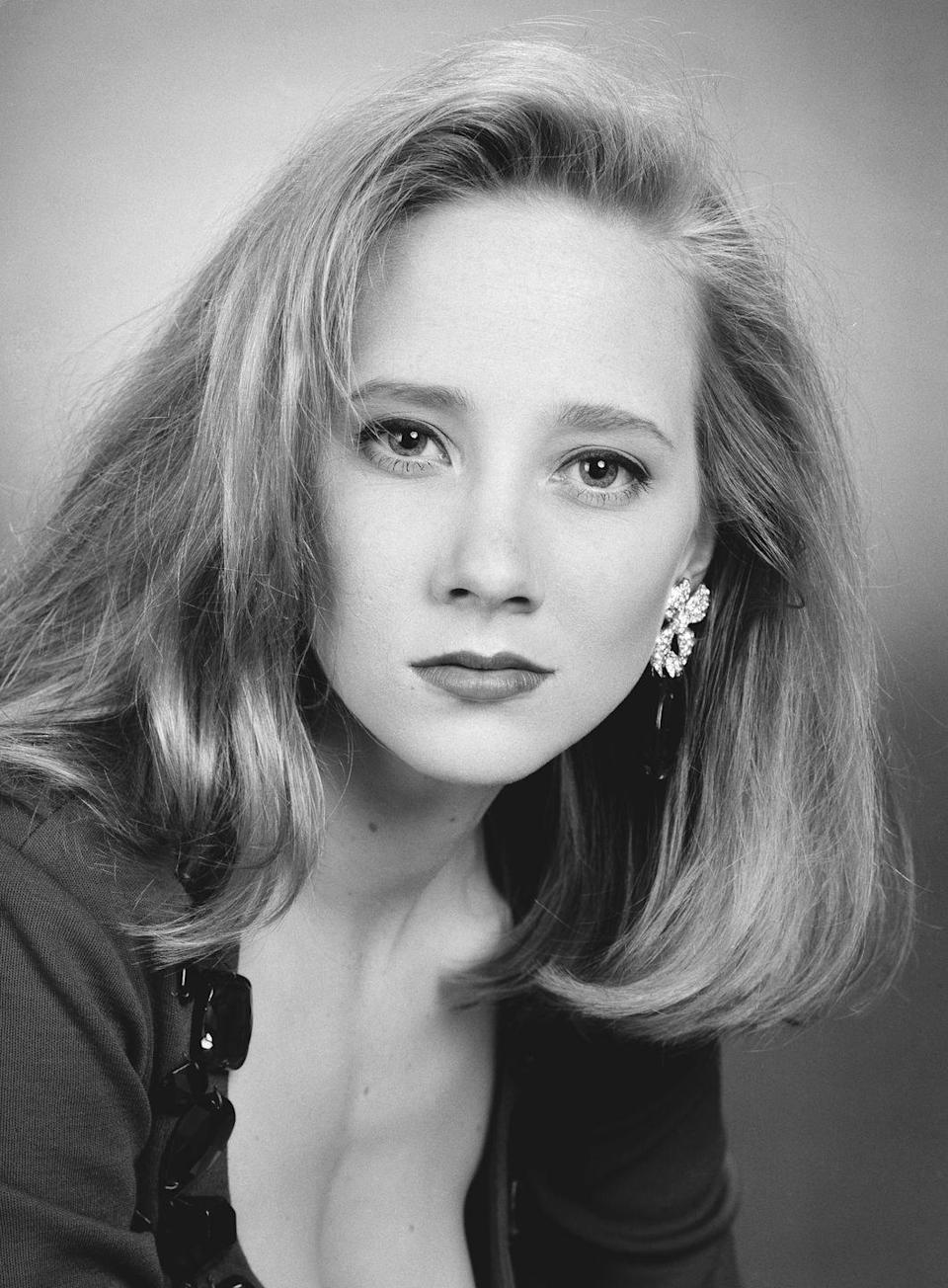 <p>The actress is best known for her roles in films spanning the late '90s and early '00s, but Anne Heche's first major role was in television on <em>Another World</em> from 1988 to 1992.</p>