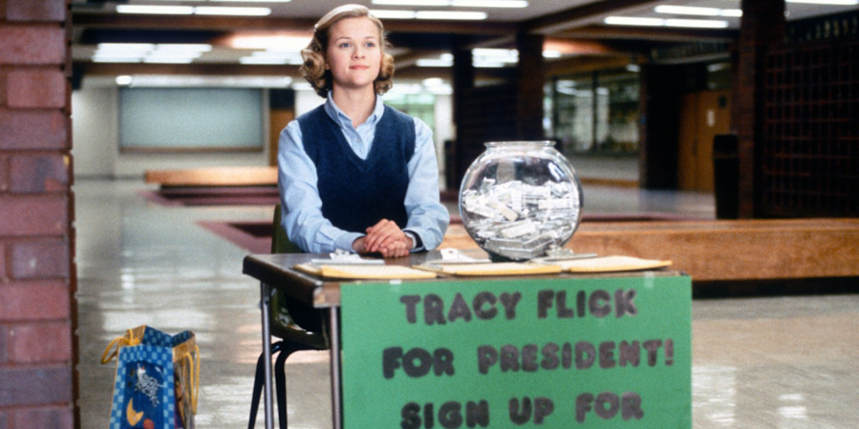 <p>Sorry, <em>Legally Blonde </em>fans, but Tracy Flick could kick Elle Woods's ass any day of the week. </p>