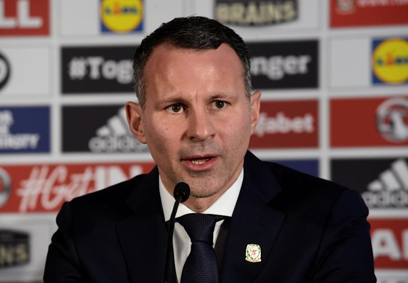 Soccer Football - Football Association of Wales - Ryan Giggs Press Conference - Hensol Castle, Vale of Glamorgan, Britain - January 15, 2018   New Wales manager Ryan Giggs during the press conference   REUTERS/Rebecca Naden