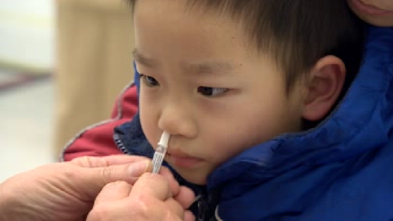 The health region now has 15,000 doses of FluMist.
