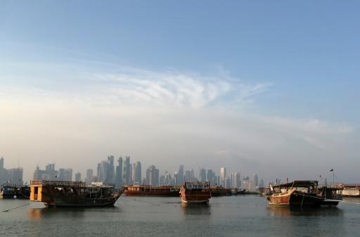 Gas-rich Qatar tapped into its massive wealth to absorb the early shocks from the blockade