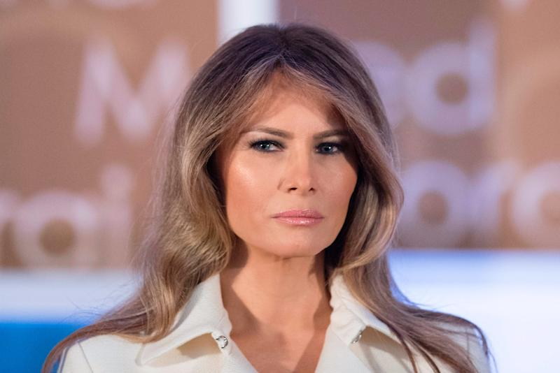 Melania Trump Gave a Rare Speech About…Women's Empowerment