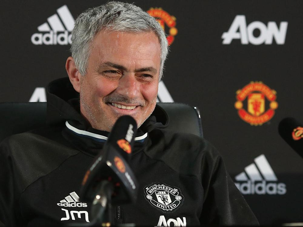Jose Mourinho is delighted with his team's unbeaten run: Getty