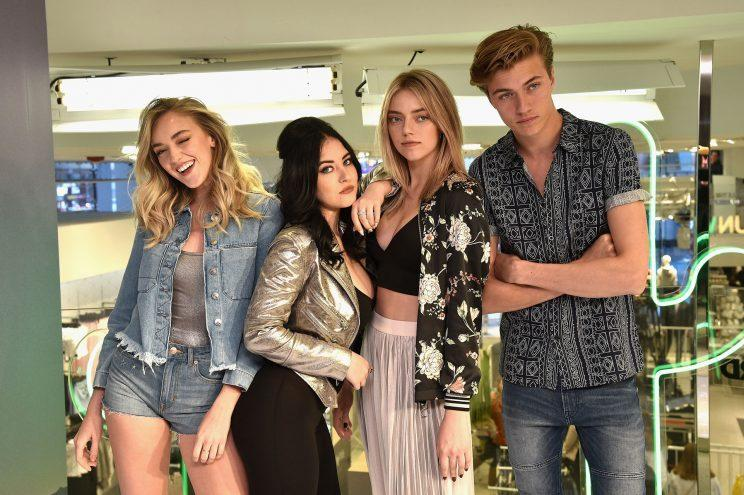 The Atomics at H&M in Times Square