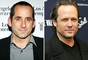Peter Jacobson, Dean Winters | Photo Credits: Brian To/FilmMagic, Stephen Lovekin/Getty Images