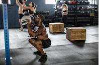 """<p>Arguably, no workout is complete without a <a href=""""https://www.menshealth.com/uk/workouts/a34504610/6-week-fat-burn-plan-cardio/"""" rel=""""nofollow noopener"""" target=""""_blank"""" data-ylk=""""slk:few cardio exercises"""" class=""""link rapid-noclick-resp"""">few cardio exercises</a>. Of course, muscle-building exercises have their place too, but to really ramp up your heart rate (and, therefore, your fat-burn) you'll want to add a few new moves to your workout. Best of all, you won't need expensive equipment or metres and metres of space — most of the cardio exercises we've listed below can be done in the space you'd need for a press-up or a full burpee. That they're not dreary steady-state runs around your local green space is a welcome bonus. </p><h2 class=""""body-h2"""">Why Should I Add Cardio Exercises to My Workouts?</h2><p>If you want to become faster, and fitter, the squat rack can only take you so far. So let's get molecular...</p><ul><li>By adding regular cardio exercises to your workouts, you'll be breathing faster and more deeply, increasing the levels of oxygen within your blood. </li><li>As your heart beats faster, your capillaries — the small blood vessels — begin to widen to deliver additional oxygen to your muscles to remove lactic acid and even make your heart stronger, allowing it to beat slower as you get fitter. </li><li>A <a href=""""http://n.neurology.org/content/early/2018/03/14/WNL.0000000000005290"""" rel=""""nofollow noopener"""" target=""""_blank"""" data-ylk=""""slk:study"""" class=""""link rapid-noclick-resp"""">study</a> published in Neurology found that people who were fit in middle age were 88 per cent less likely to develop dementia.</li><li>Aerobic exercise has been found to boost 'good' cholesterol (HDL) and, conversely, lower 'bad', cholesterol.</li><li>During and after exercise, your body will produce feel-good hormones, called endorphins, that act as natural painkillers.</li><li>By regularly incorporating cardio exercises to your workouts, you'll begin to notice improvements in y"""