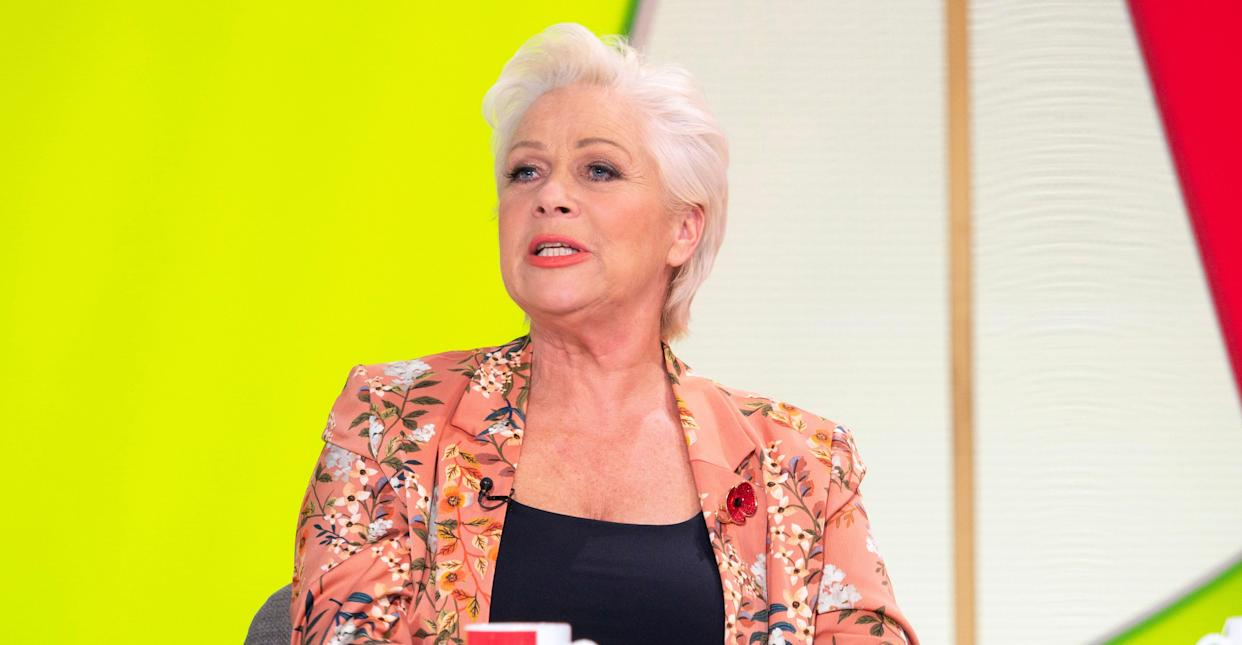 Denise Welch opened up about her relationship with her son Matty on Monday's Loose Women. (REX)