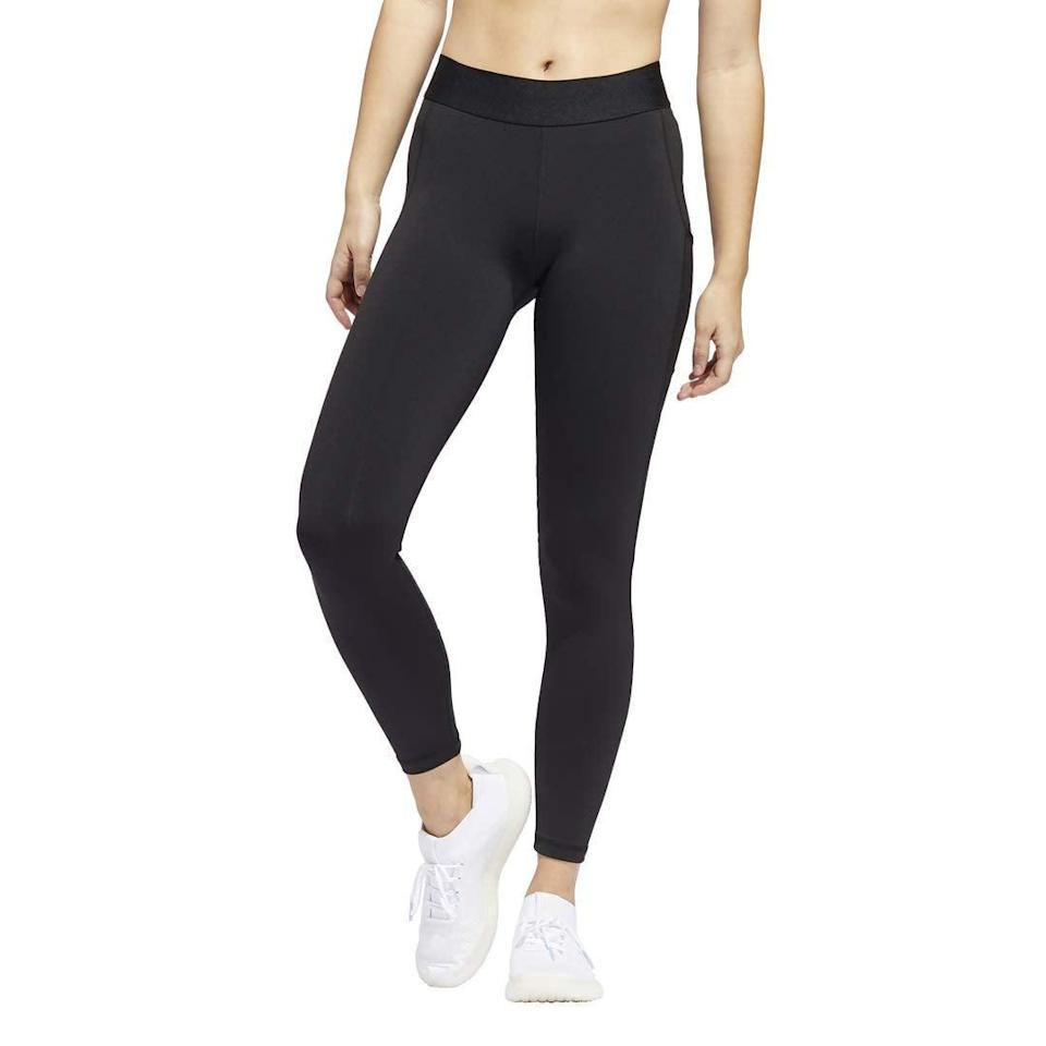 "<br><br><strong>Adidas</strong> Women's Alphaskin 7/8 Tights, $, available at <a href=""https://amzn.to/2GK9v61"" rel=""nofollow noopener"" target=""_blank"" data-ylk=""slk:Amazon"" class=""link rapid-noclick-resp"">Amazon</a>"