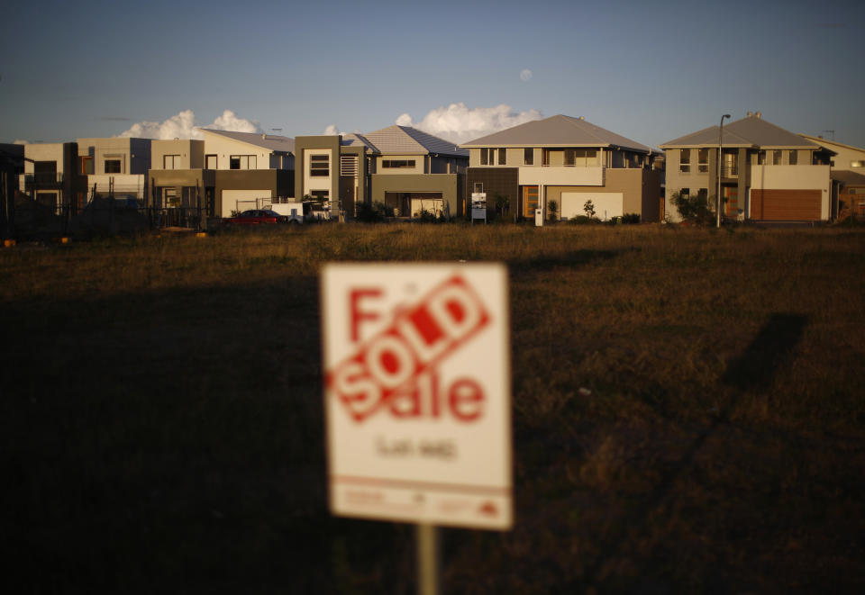Australian property prices are going gangbusters. Source: REUTERS