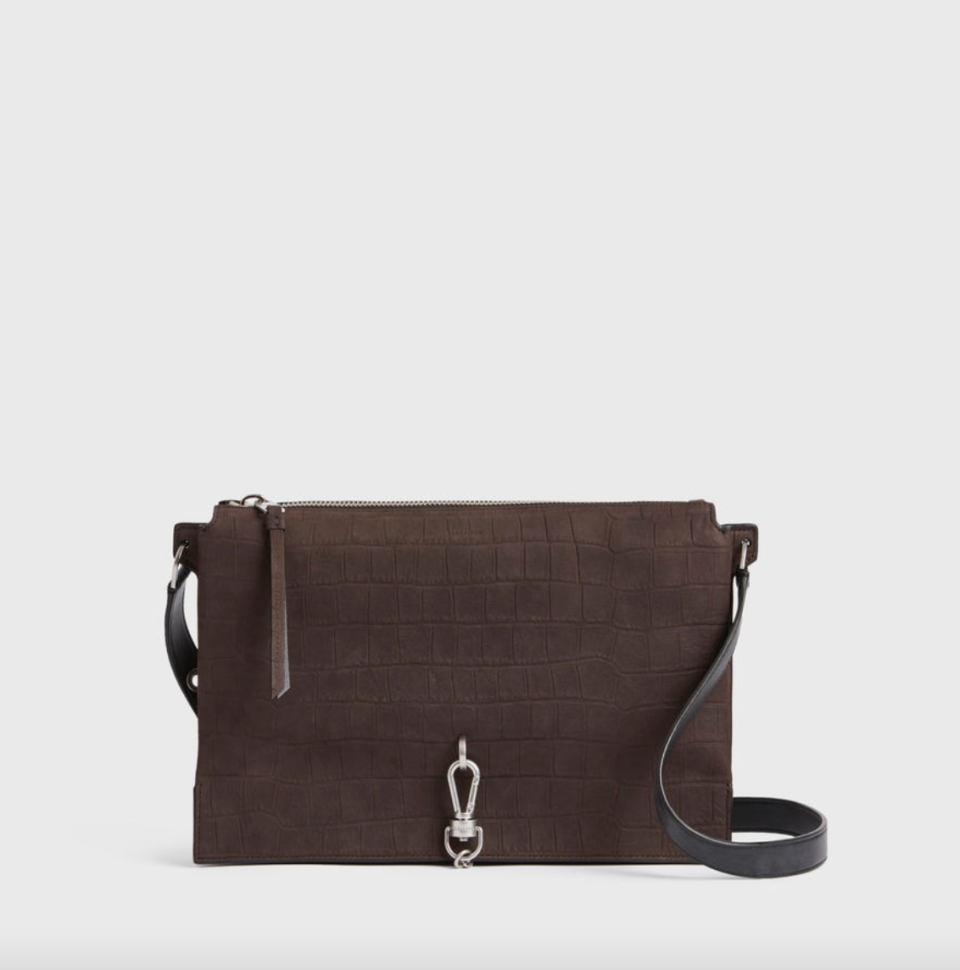 AllSaints 'Sheringham' Suede Shoulder Bag (Photo via AllSaints)