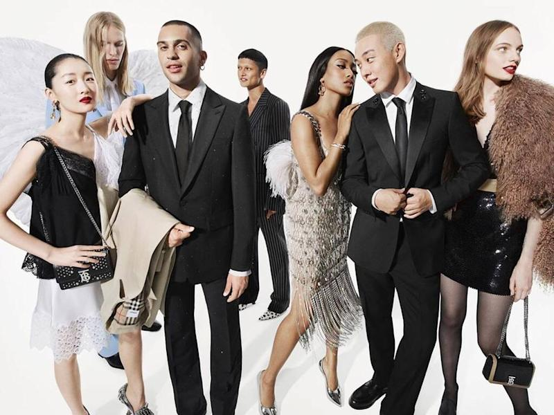 Riccardo Tisci drops first holiday campaign for Burberry