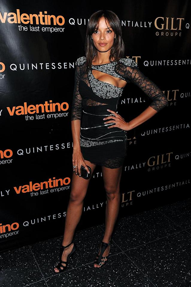 "Did Selita Ebanks steal this outfit from a Russian ice dancer? Dimitrios Kambouris/<a href=""http://www.wireimage.com"" target=""new"">WireImage.com</a> - March 17, 2009"