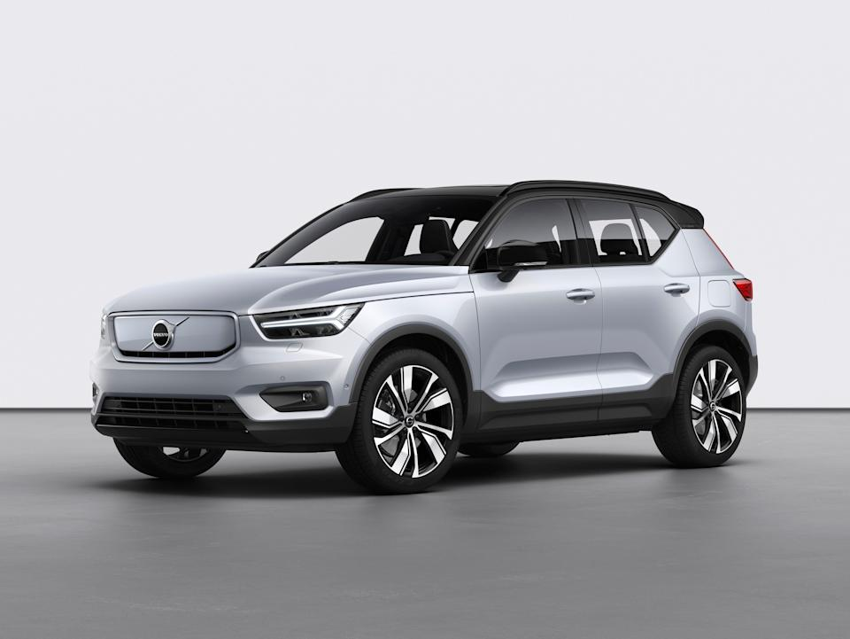 The Volvo XC40 Recharge electric SUV will be among the first Volvo vehicles to go vegan on the interior.