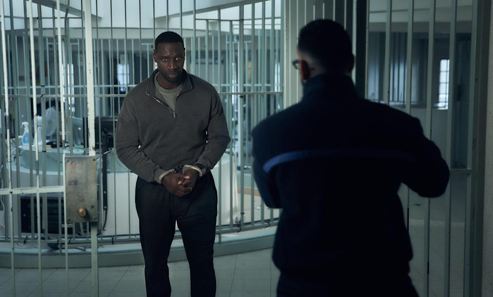Assane Diop starts out the series down on his luckNetflix