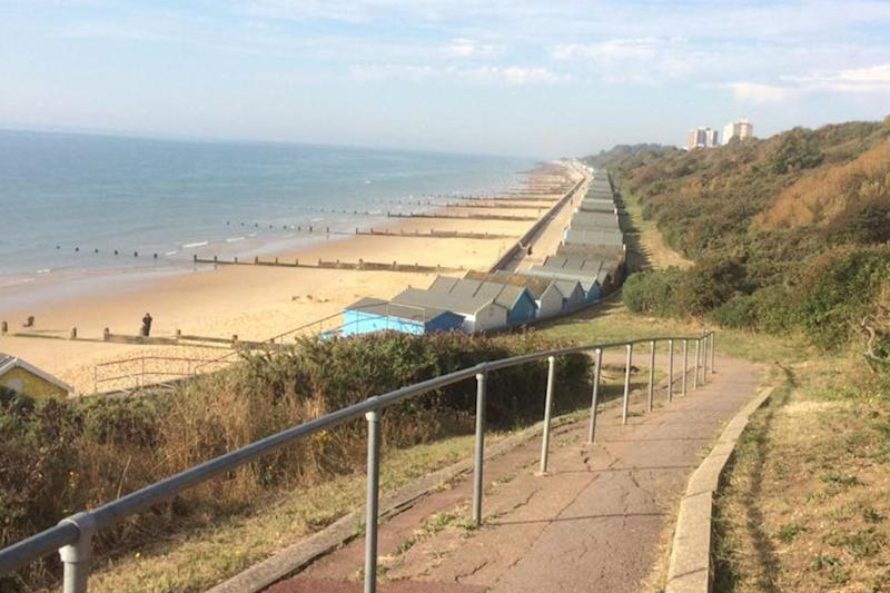 Police scrambled to Frinton to reports people were struggling to breathe: Dan/@neargeek
