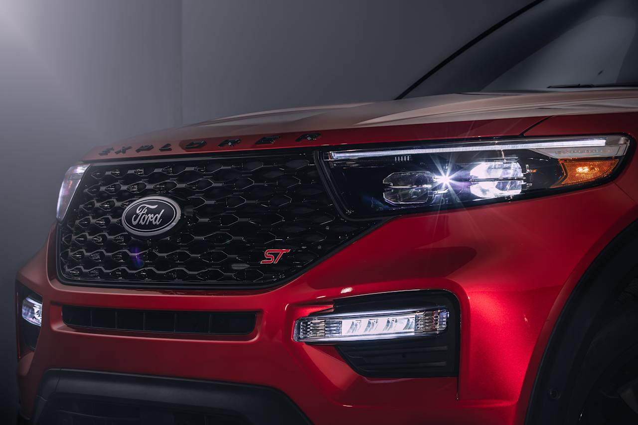 "<p>The just-introduced <a rel=""nofollow"" href=""https://www.caranddriver.com/news/a25834714/2020-ford-explorer-suv-photos-info/"">2020 Ford Explorer</a> doesn't stray too far from the formula that put it in the driveway of millions of consumers. Instantly familiar but more rakish and attractive than the outgoing model, the 2020 Explorer hits all the marks needed to remain relevant: It's approximately 200 pounds lighter, can tow up to 5600 pounds, features updated infotainment and connectivity anchored by an 8.0-inch vertical touchscreen, and is built on an entirely new platform designed as rear-wheel drive from the onset. It's bound to make the suburbs a happier and prettier place, if not a more exciting one. As for excitement? That's where the Explorer ST comes in.</p>"