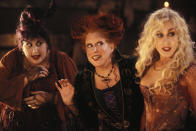 <p> It&#x2019;s sometimes a little too easy to forget that the Sanderson sisters are meant to be child-murdering villains in Hocus Pocus. After being accidentally resurrected in modern-day Salem by young Max, the trio start to cause havoc in the local town. If they&#x2019;re not stopped, they&#x2019;ll suck the soul out of every child for miles in order to maintain their vitality and youth.&#xA0; </p> <p> While it wasn&#x2019;t much of a hit at the time (especially with critics), Hocus Pocus has slowly grown in reputation and become a seasonal tradition. It was part of a refreshing wave of Halloween-themed movies that weren&#x2019;t actually horrors, alongside The Addams Family and Caspar the Friendly Ghost. It&#x2019;s a perfect film for people who want to celebrate the holiday but are also complete scaredy cats.&#xA0; </p>