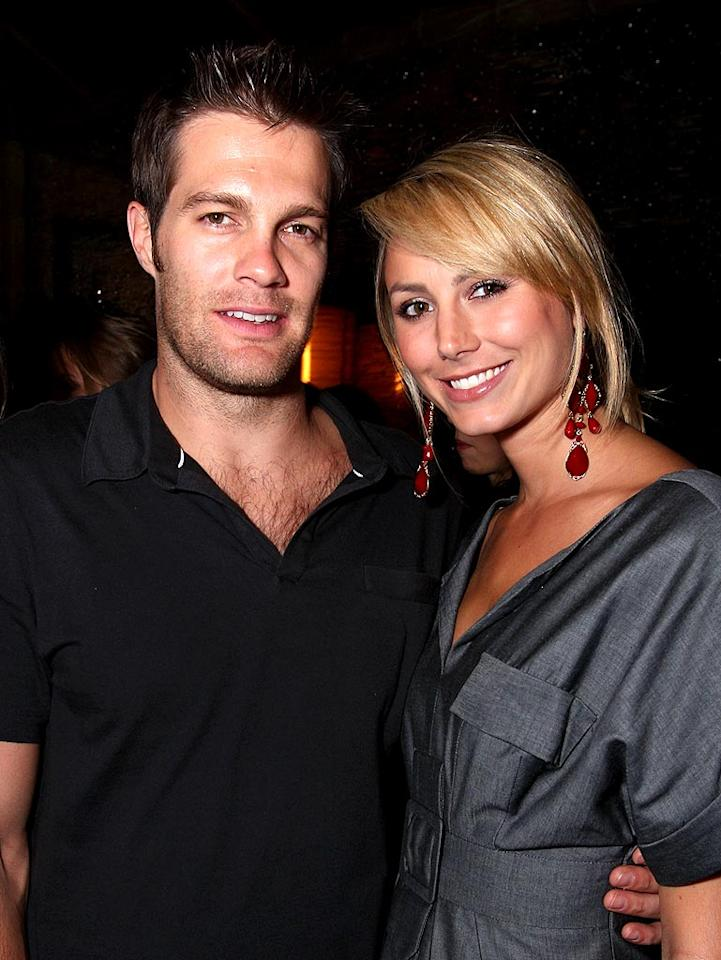 "Former WWE diva Stacy Keibler and her main squeeze, actor Geoff Stults (""October Road""), make quite the cute couple. John Shearer/<a href=""http://www.wireimage.com"" target=""new"">WireImage.com</a> - October 22, 2008"