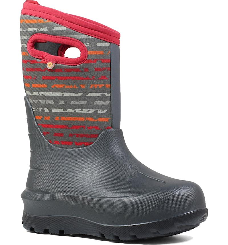 Bogs Neo-Classic Insulated Boys' Waterproof Boot. Image via Nordstrom.