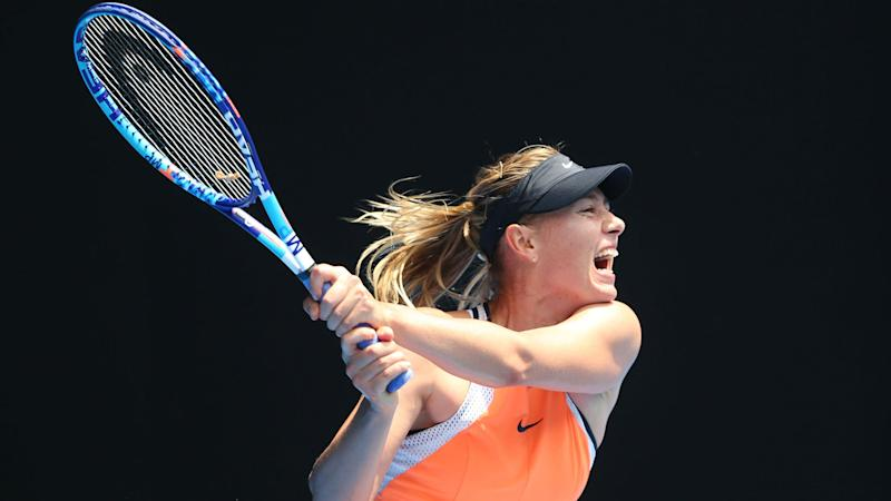 Sharapova unfazed by criticism following doping ban