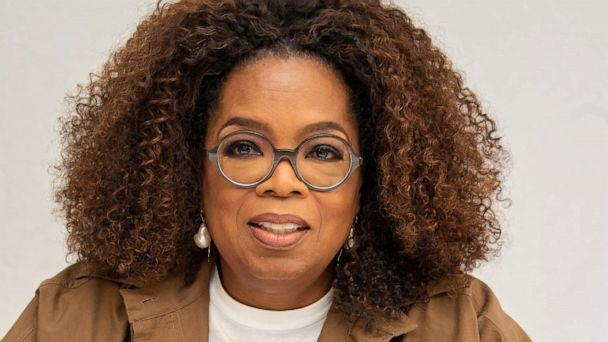 PHOTO: Oprah Winfrey speaks at a press conference on Aug. 06, 2019, in Beverly Hills, Calif. (WireImage/Getty Images, FILE)