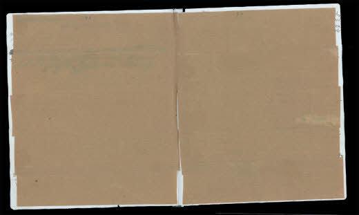 Researchers uncovered a never-before-seen entry by Anne Frankbeneath these pages of brown paper. It's dated September 28, 1942. (Anne Frank House)